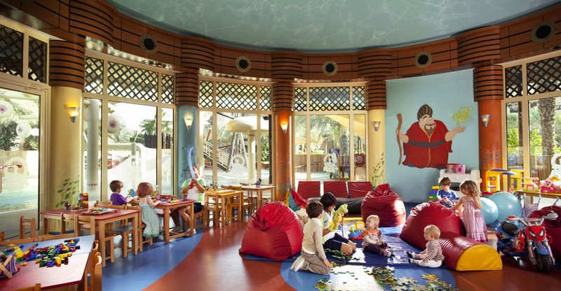 Sinbad's Kids Club (for 2-12 years) has undergone a $1.5m refurbishment in 2008 to allow Jumeirah Beach Hotel to continue to offer the best possible family ... - Du.Jum.2_1_large